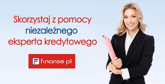Skorzystaj z pomocy niezależnego eksperta kredytowego finanse.pl!
