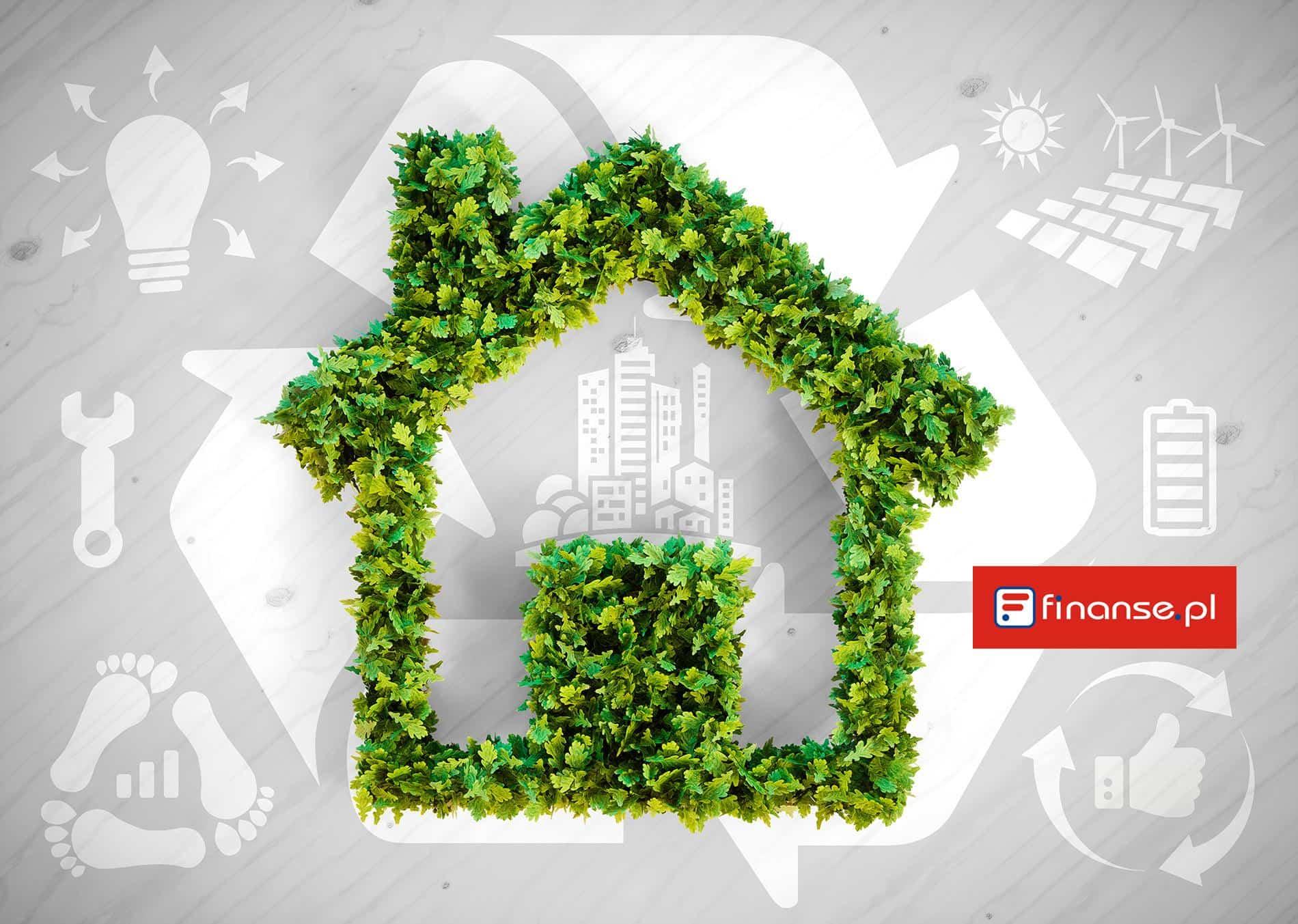 dom energoszczędny infografika